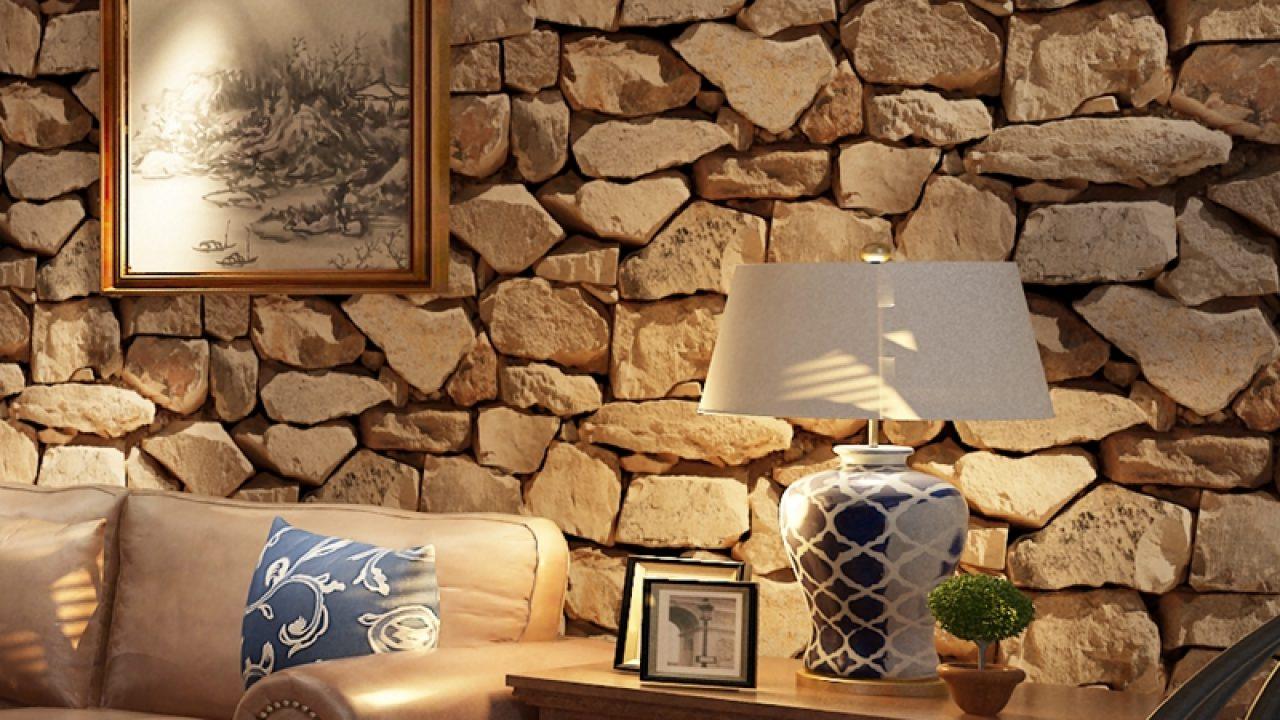 Mur En Pierre Naturelle arthouse Église papier peint pierre naturelle 697100